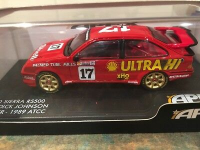 Apex 1:43 Scale 1989 ATCC Winner Ford Sierra  #17 Dick Johnson (Only 600 Made)