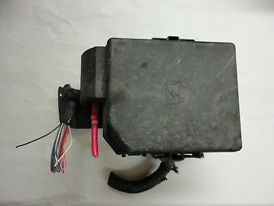 2006-2007 chevrolet impala lt fuse box engine main battery junction relay