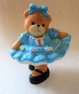 Lucy & Me ~ Dancer All Dressed Up Curtsy Bow ~ Porcelain Figurine