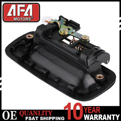 Door Handle Exterior Outside Black Front LH Driver Side For 95-04 Toyota Tacoma