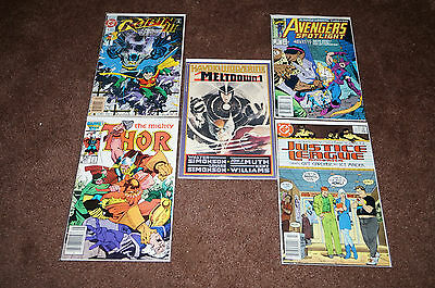 Marvel/dc Comics Lot Of 10 Books...bagged & Boarded! #3