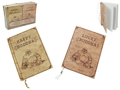 1pce 15cm Lucky/Happy Buddha Rustic Style Notebook Vintage Antique Style