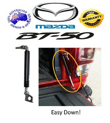 Mazda BT-50 2011+ Tailgate Easy Down Assist Gas Strut Up Conversion Kit