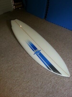 "Surfboard Pipedream (Burton Shapes). 7'6"" x 23 1/2"" x 3 1/18"""