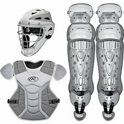 Rawlings Velo Catchers Set Youth VCSY - WH/SL