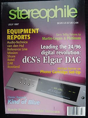 STEREOPHILE VOL 20,No.7 MISSION 754 FREEDOM 5,AT ML 150,SHURE V 15VxMR,AUDIO