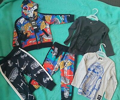 Bonds Star wars size 3 lot nwt Boys Girls Toddlers