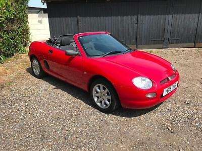 2001 MG MGF 1.6i Red *83,000 miles only* Classic Car, convertible