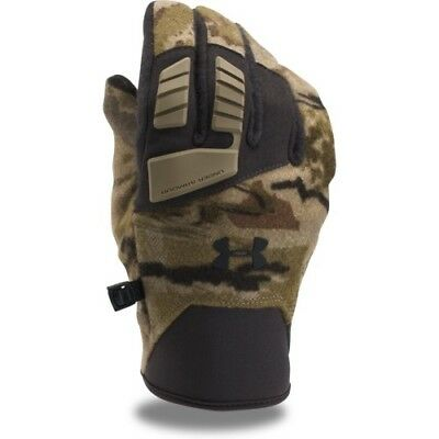 Under Armour Tactical Speedfreak Wool Mens Gloves - Ridge Reaper Camo Foliage