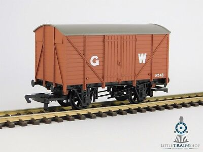 Hornby R3489 12-ton Van in GWR Bauxite Livery - New & Unboxed [HOR-R3489c]