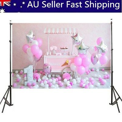 Baby Birthday Party Theme Photography Backdrop Background Studio Photo Props