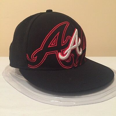 "MLB Atlanta Braves 7 1/2"" (59.6 cm) 59FIFTY WOOL Fitted Cap by New Era"