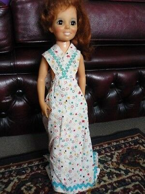 Crissy Doll CROSS OVER DRESS. 1970s Clothing