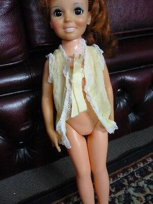 Crissy Doll Yelllow Night gown top. 1970s Clothing