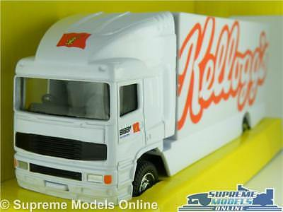 Erf Model Truck Lorry Kelloggs 1:64 Scale Corgi Ty86808 Superhaulers Rigid K8
