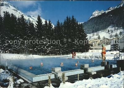 11703262 Leukerbad Thermal Schwimmbad Leukerbad