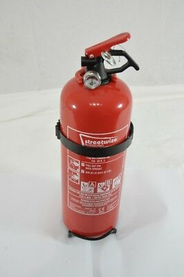 Streetwise Fire Extinguisher 2KG Powder - Electrical Wood Gas Fires