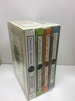 NEW Lot of 4 The Wicked Years Books Boxed Set Maguire Son Witch Out Oz FREE SHIP