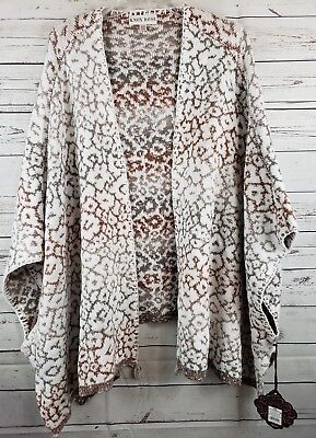 KNOX ROSE NWT Size XXL Multicolor Animal Floral Oversize