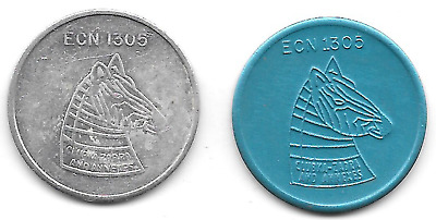 Kaiserslautern /Vogelweh Germany ECN 1305 Club Ka-Zabra 25 Zebra Military tokens