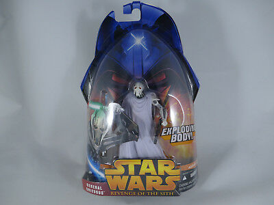 Star Wars Revenge Of The Sith General Grievous Exploding Body Rots Moc