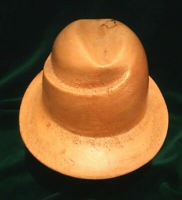 96 Antique Wooden Millinery Hat Block Mold Form Forme De Chapeau Forma