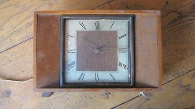 Old Smiths Deco Electric Clock
