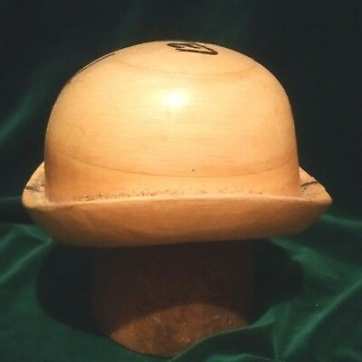 102 Antique Wooden Millinery Hat Block Mold Form Forme De Chapeau Forma
