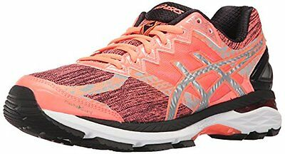 Asics GT-2000 4 Womens Running Shoes Size 7 NEW flash coral silver black