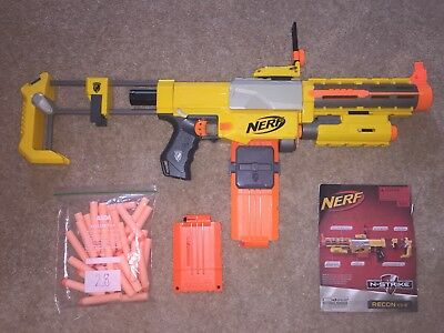 4 Nerf Guns With Bullets - Bundle