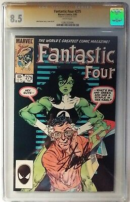 Fantastic Four 275 Cgc Ss Signed By Stan Lee