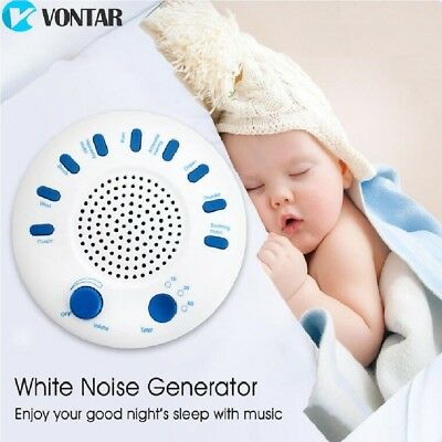 VONTAR Sound Therapy SPA Relaxing White Noise Machine Nature Peace Sleep 9-Music