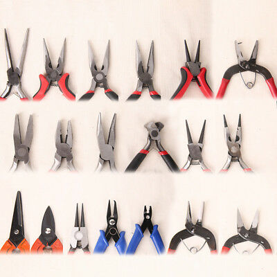 Beading Jewellery Mini Pliers Tools Wire Cutters Shears Chain Making Craft Grip