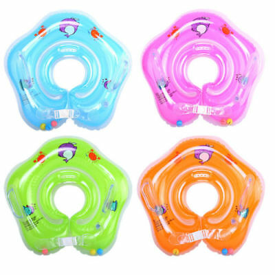Baby Swimming Neck Float Infant Bath Ring Adjustable Safety Aids 1-18 Months