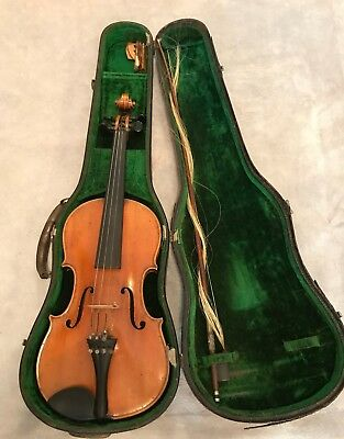 L.Lowendall 1877 Dresden  Celebrated Conservatory Violin Amati Excellent w/Bow