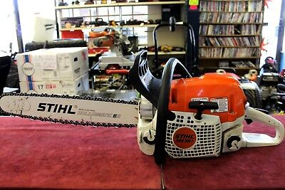 "STIHL MS391 Grade 64.1cc 3.3kW 3/8"" Fuel Efficiency Chainsaw 20"" FREE SHIPPING"