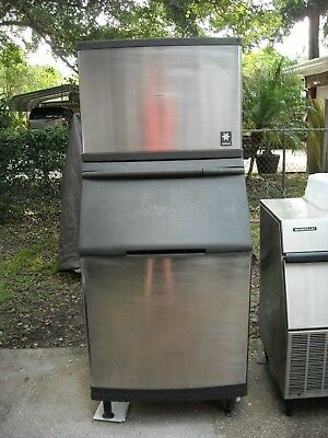 Ice machine Manitowoc QDO452A with S510 Bin