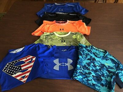 Under Armour & Nike Boys Size XL & Adult Small Dri-Fit T-Shirts