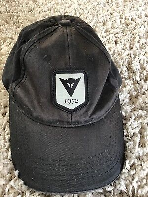 "Dainese motorcycle base ball cap ""GP and road"" black cap"
