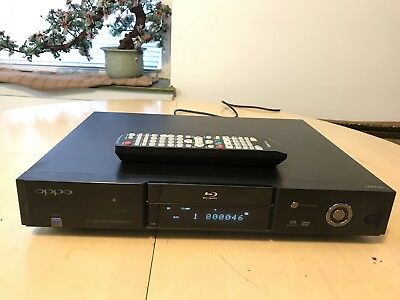 Oppo BDP-83 Blu Ray Player Great Working Conditions