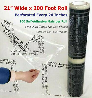 "Sticky Floor Mats 21"" Wide x 200' Roll 