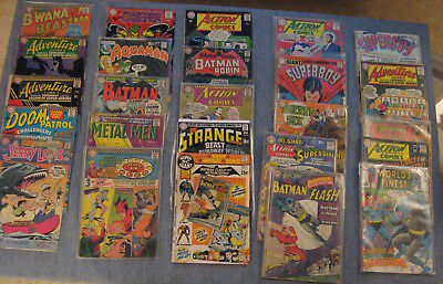WOW! MEGA-LOT of *108* Silver Age/1960s DC Comics! 70% Superman Family/+++ (VG-)