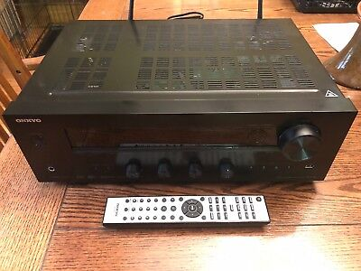 Onkyo TX-8140 Network Stereo Receiver with Built-In WiFi & Bluetooth nearly new.