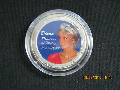 Princess Diana Of Wales Commemorative Coin RARE !!!!!