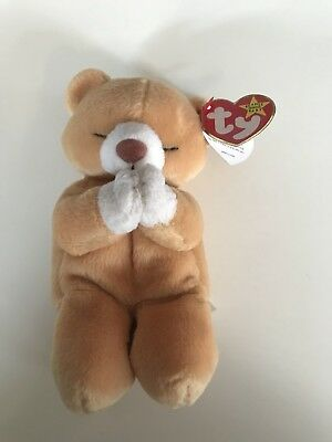 778639f7846 Ty Beanie Baby HOPE Praying Bear Has Tag Errors RARE!—FINAL Sale-won