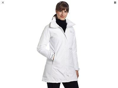 limpid in sight full range of specifications many fashionable HELLY HANSEN W Aden Long Insulated Jacket Sz M White ...