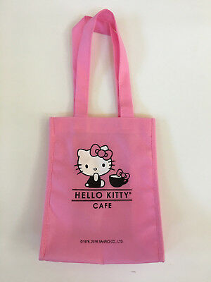 Hello Kitty Cafe Exclusive Pink Tote Bag
