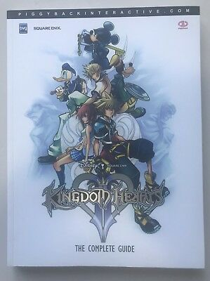 Kingdom Hearts 2 Piggyback Official strategy guide
