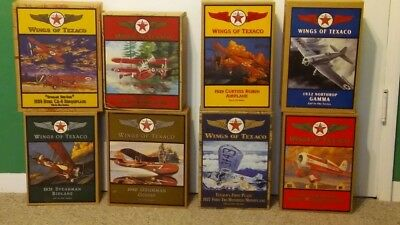Wings of Texaco airplanes. Boxes never opened. Excellent condition.