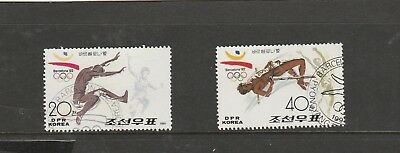 Korea.1991 Olympic Games Barcelona. 2 x 40c. Great Used Stamps. See Photo.